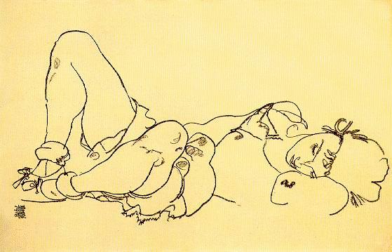 #00920. Egon Schiele