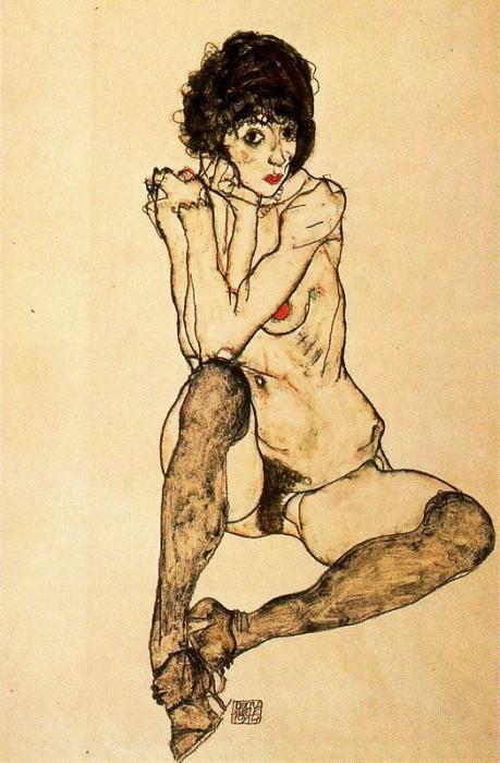 #37919. Egon Schiele