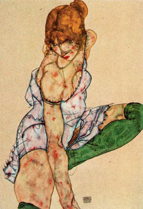 #38026. Egon Schiele