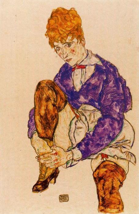 #37989. Egon Schiele