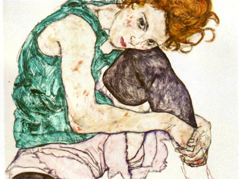 #00907. Egon Schiele