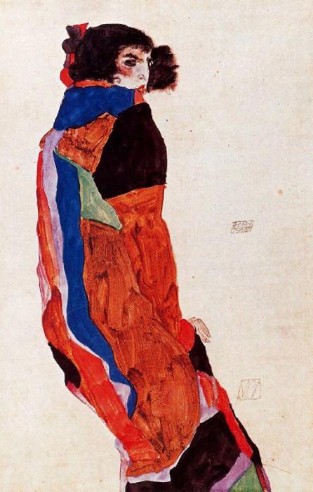 #37931. Egon Schiele