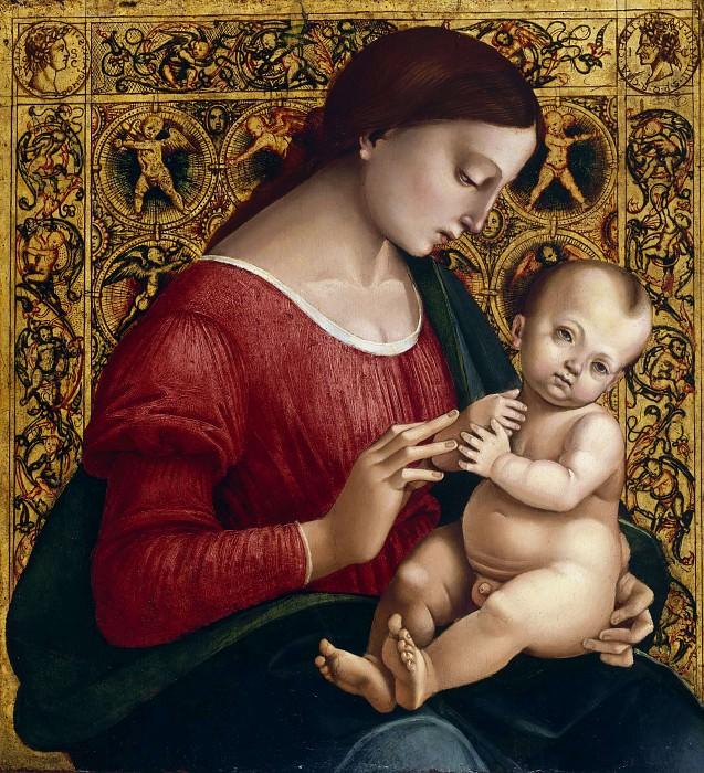 Madonna and Child. Luca Signorelli