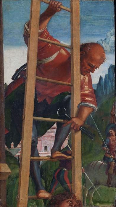 Man on a Ladder. Luca Signorelli