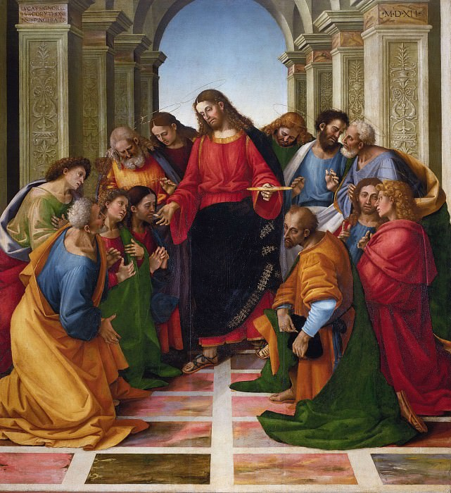 Communion of the Apostles. Luca Signorelli