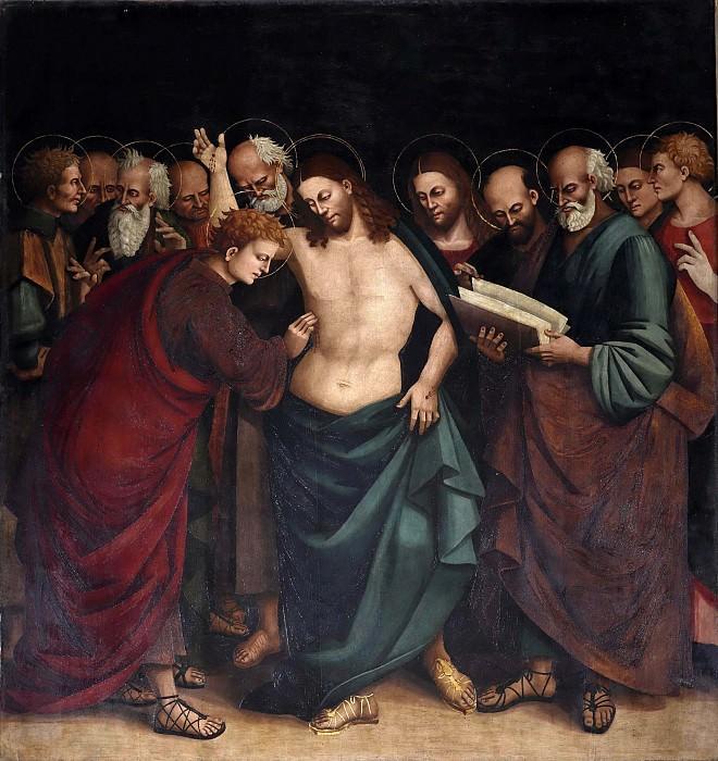 Неверие святого Фомы. Лука Синьорелли