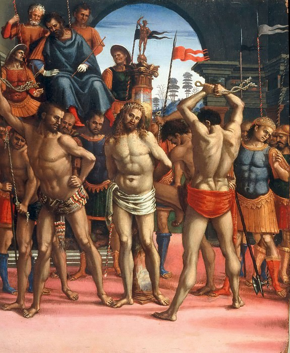 Flagellation of Christ. Luca Signorelli