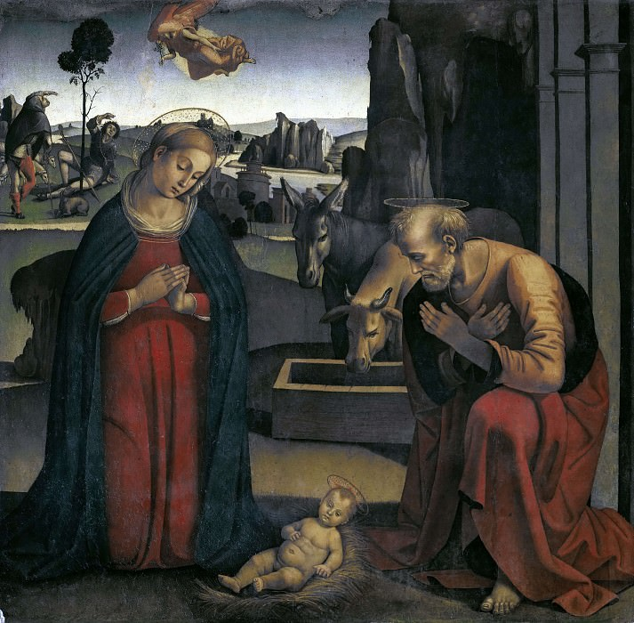 Adoration of the Child. Luca Signorelli