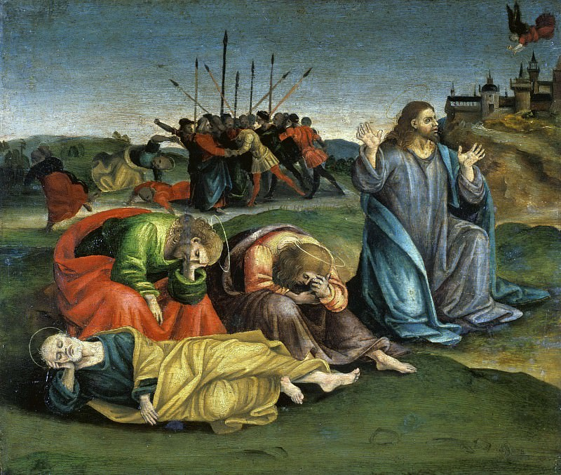 Christ on the Mount of Olives. Luca Signorelli