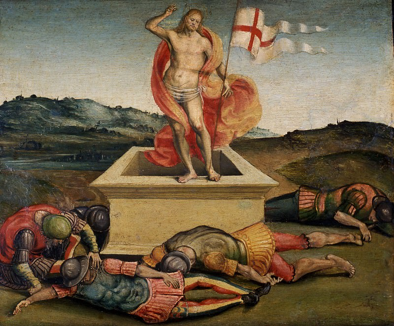 The resurrection of Christ. Luca Signorelli