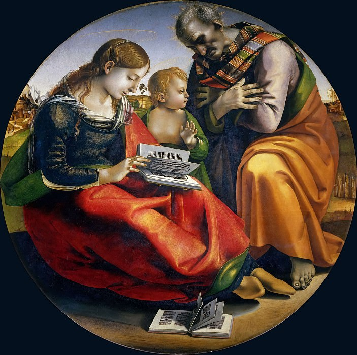 The Holy Family. Luca Signorelli