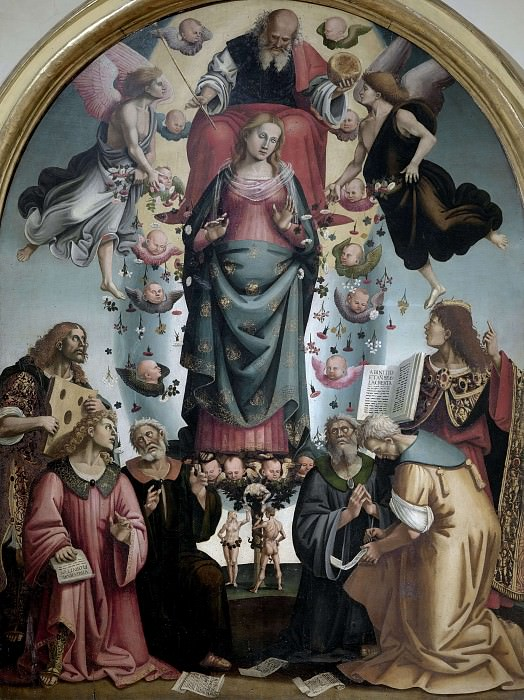 Allegory of the Immaculate Conception and Prophets. Luca Signorelli
