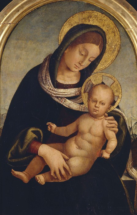 Madonna and Child. Luca Signorelli