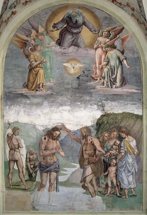 Крещение Христа. Лука Синьорелли