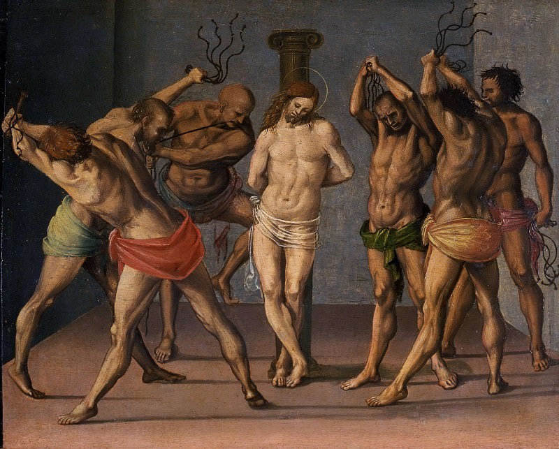 The Flagellation of Christ. Luca Signorelli