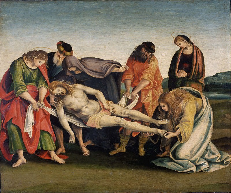 The tomb of Christ. Luca Signorelli
