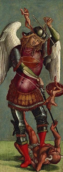 Saint Michael. Luca Signorelli