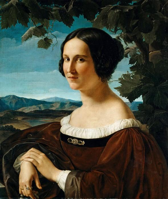 Портрет римлянки. Вильгельм фон Шадов