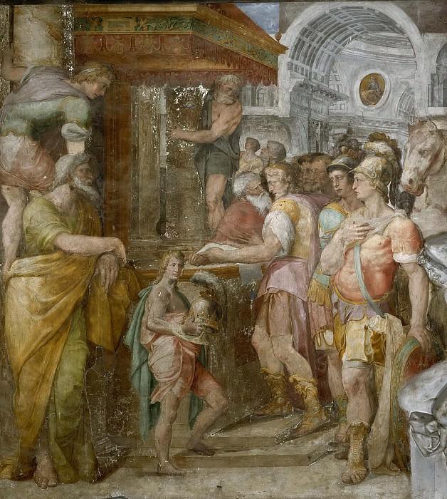 Otto I Gives the Church the Provinces that Belong to It. Orazio Samacchini