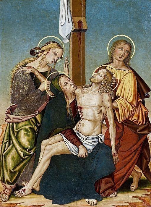 Оплакивание мертвого Христа. Бернардино ди Мариотто делло Станьо