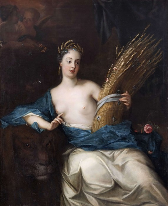 Ceres or Allegory of the Element Earth. Georg Engelhard Schröder