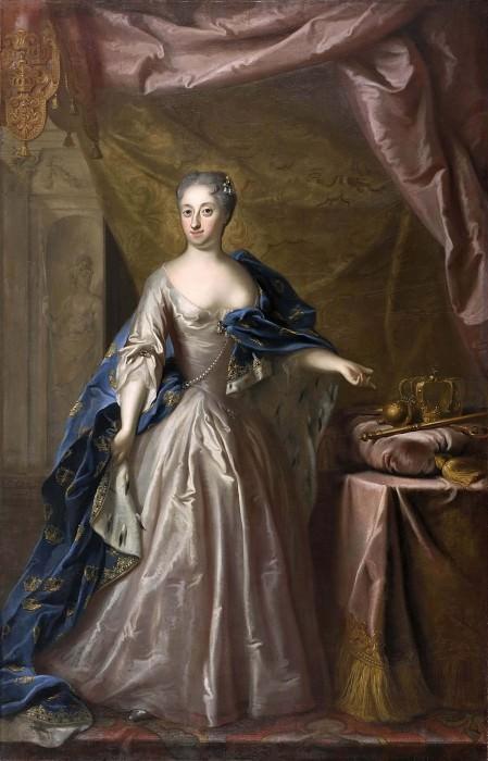 Ulrika Eleonora, (1688-1741), Queen of Sweden. Georg Engelhard Schröder