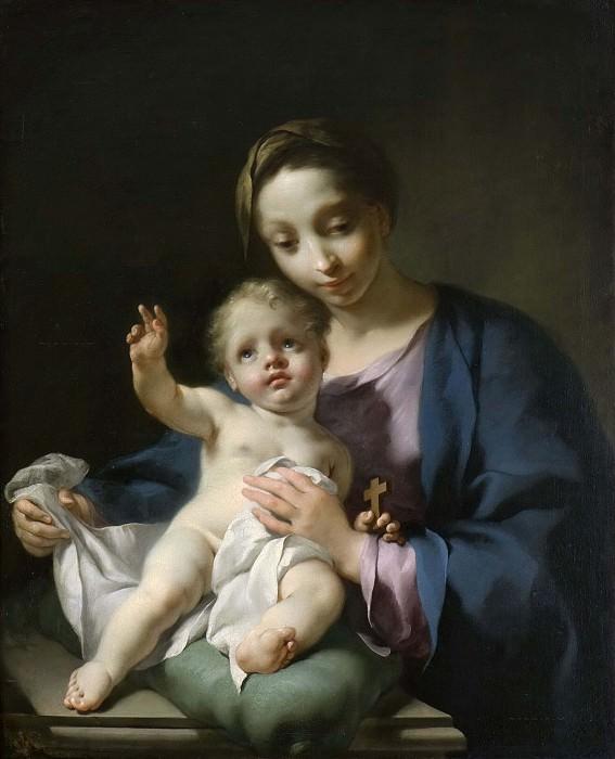 Madonna and Child. Georg Engelhard Schröder