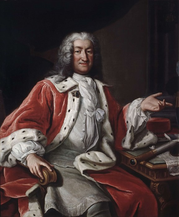 Arvid Bernard Horn of Ekebyholm (1664-1742). Georg Engelhard Schröder (After)