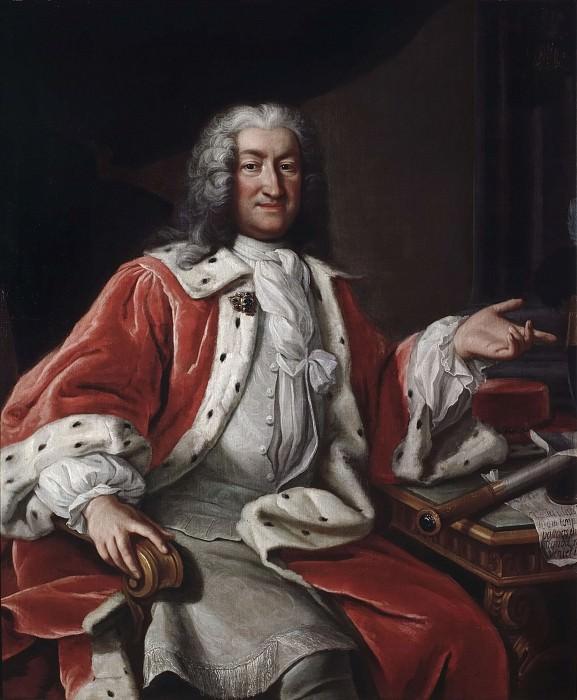 Арвид Бернард Хорн из Экебихольма (1664-1742). Георг Энгельхард Шрёдер (Последователь)