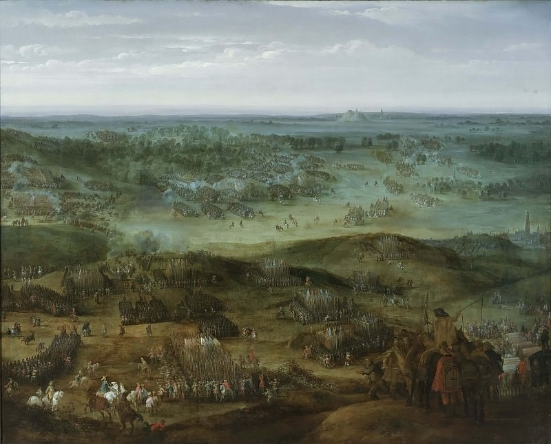 The Battle of Nördlingen. Pieter Snayers (Attributed)