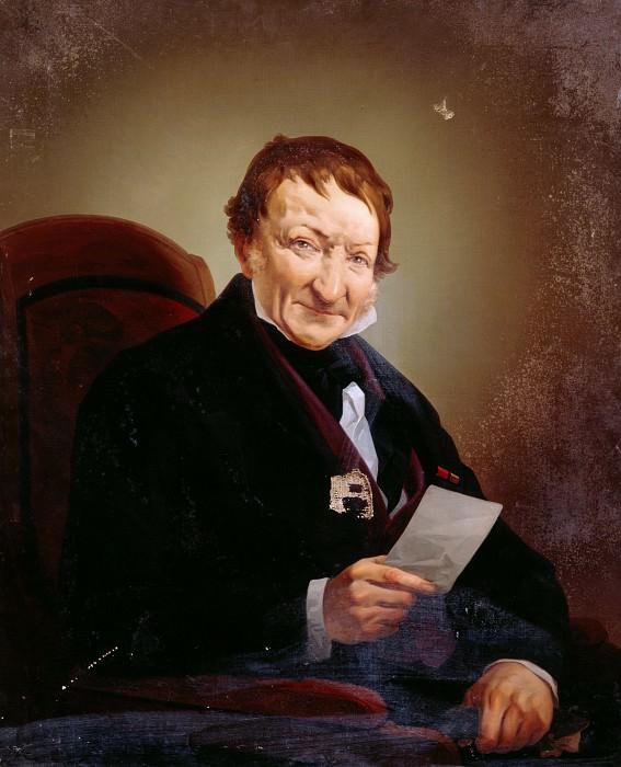 Portrait of Heinrich Mylius. Giovanni Servi