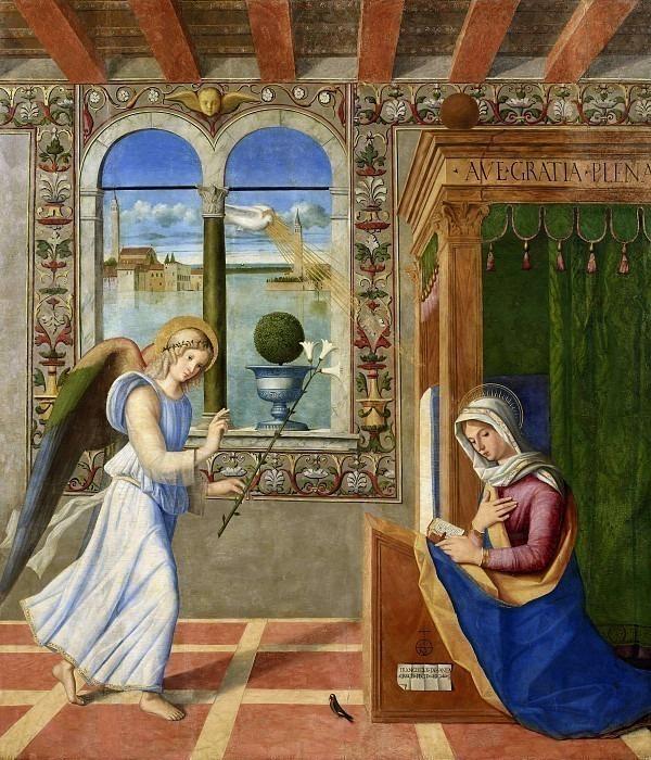 Благовещение. Франческо ди Симоне да Сантакроче