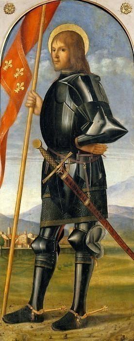 Сант-Алессандро (Триптих Лепрено). Франческо ди Симоне да Сантакроче