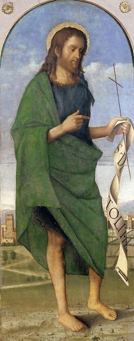 Святой Иоанн Креститель (Триптих Лепрено). Франческо ди Симоне да Сантакроче
