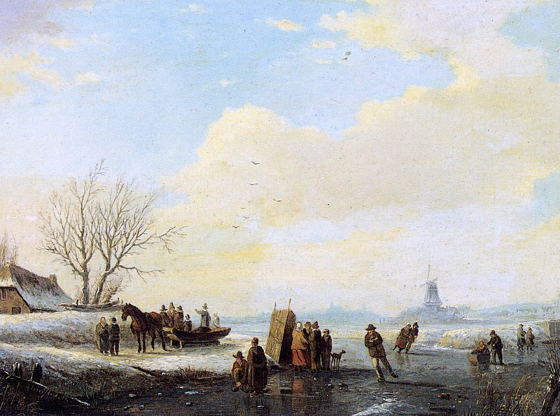 Schelfhout Andreas Ice Merriment Koek en Zopie Sun. Andreas Schelfhout