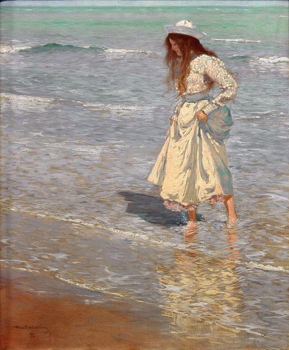 On the Beach. Max Schlichting
