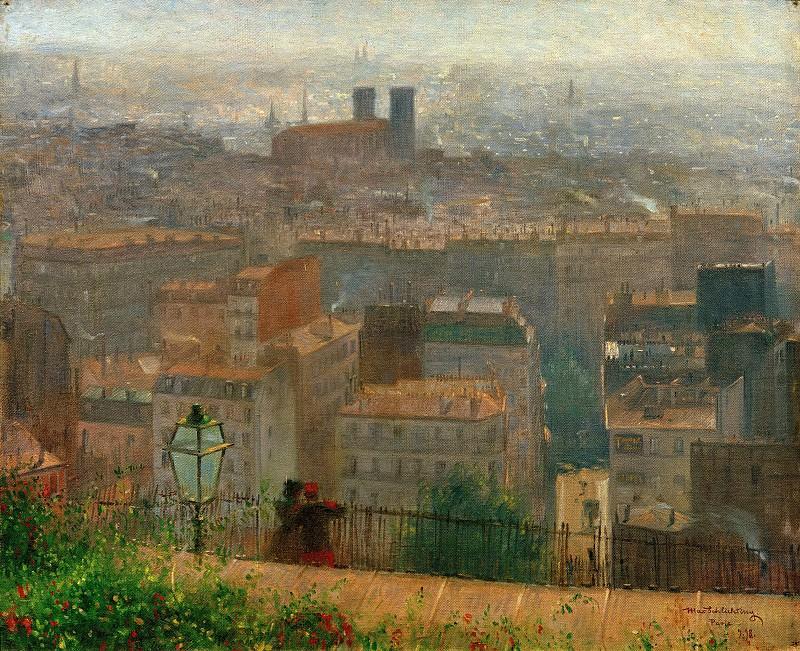 View of Paris. Max Schlichting
