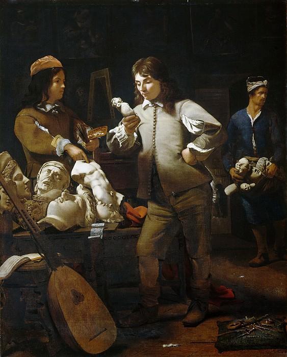 In the Studio, 1652. Michael Sweerts