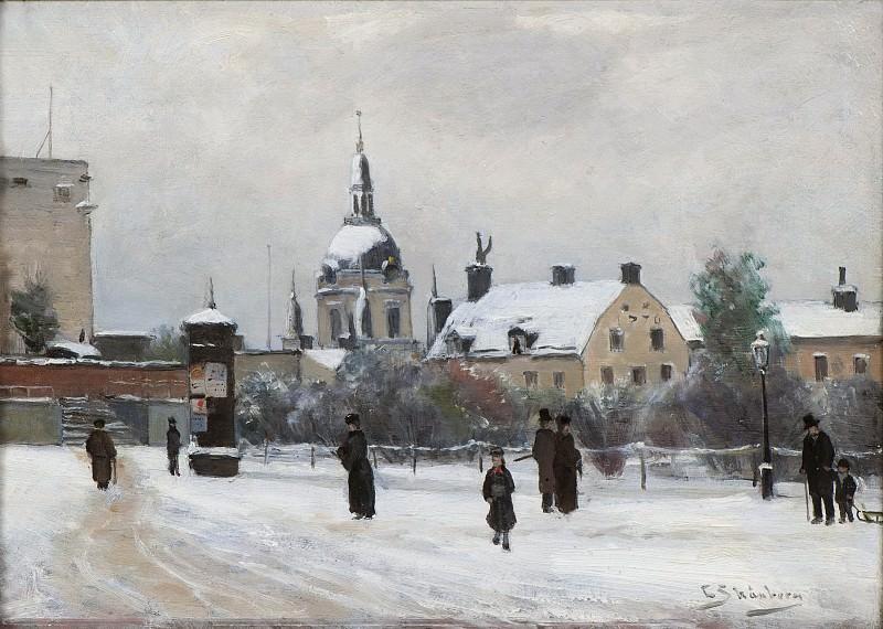 Mosebacke Square. Carl Emmerik Skånberg