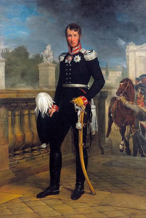 Король Пруссии Фридрих Вильгельм III. Юлиус Шрадер