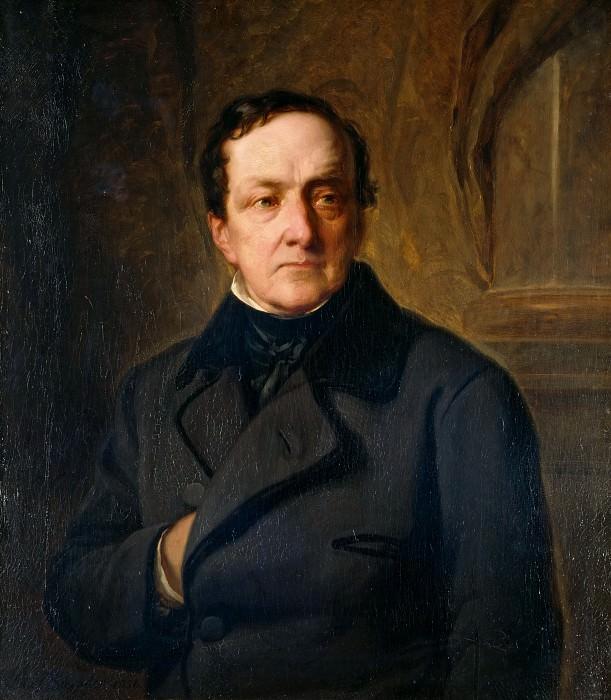 Портрет банкира Иоахима Генриха Вильгельма Вагенера. Юлиус Шрадер