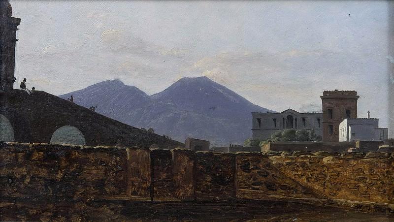 Vesuvius Seen from St January Bridge, Naples. Gustaf Söderberg