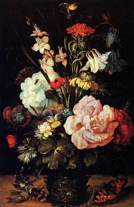 Savery Roelandt Jacobsz Flowers In A Vase. Roelandt Jacobsz Savery