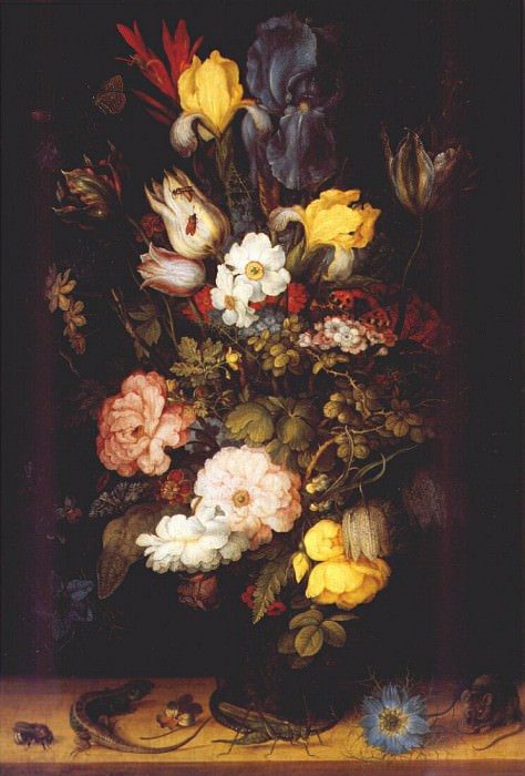 savery bouquet of flowers 1612. Roelandt Jacobsz Savery