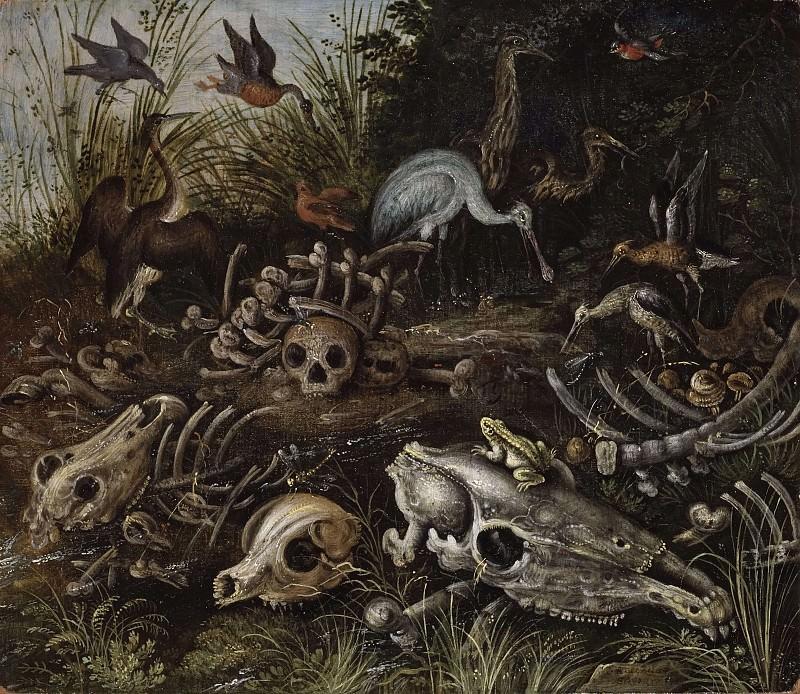 Memento mori. Roelandt Jacobsz Savery