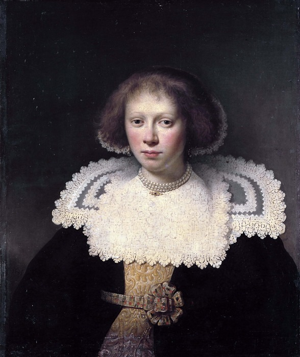 Портрет молодой женщины. Дирк Диркс Ван Сантворт