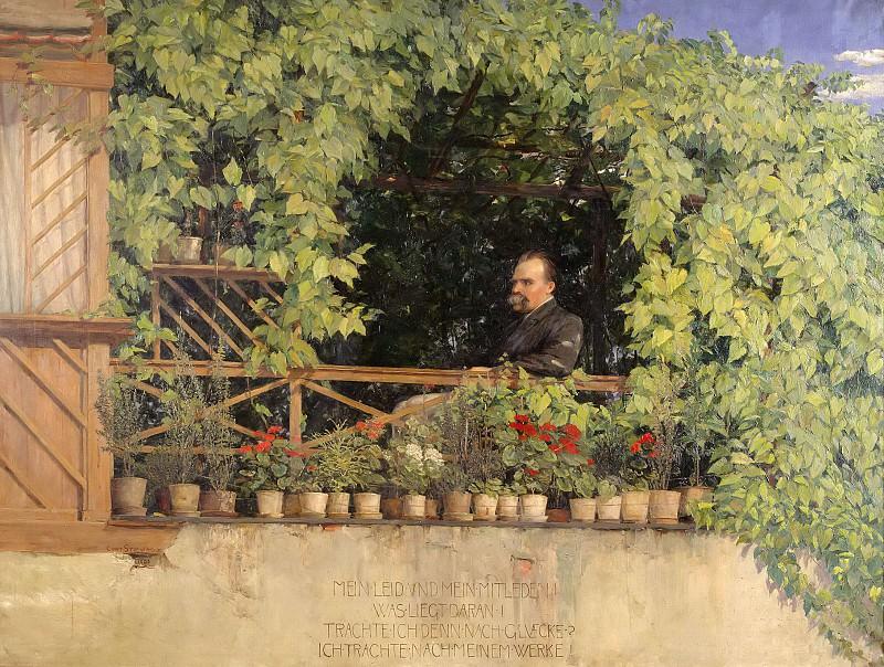 Friedrich Nietzsche. Curt Stoeving