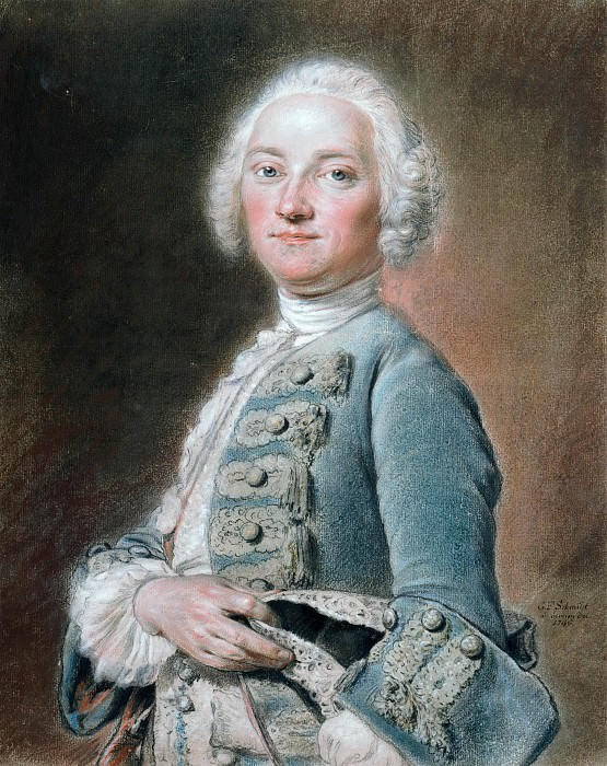 Portrait of Dr. Lieberkuhn. Georg Friedrich Schmidt