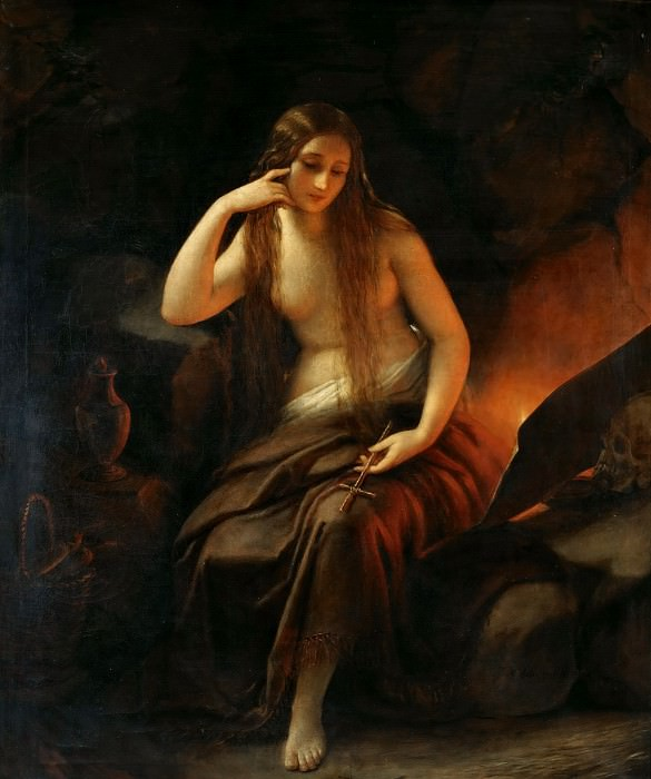 Penitent Mary Magdalene. Natale Schiavoni
