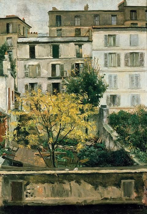 Дома на Монмартре. Мария Славона